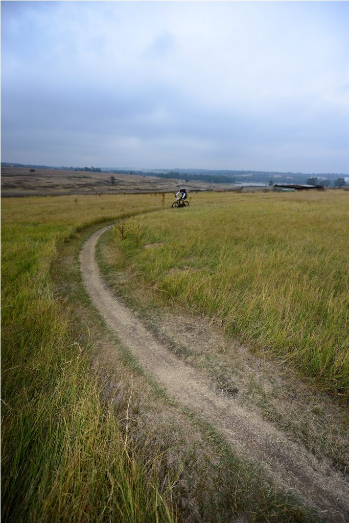 The Glacier Cradle Traverse boasts a route with flowing but non-technical singletrack. Photo by ZC Marketing Consulting.